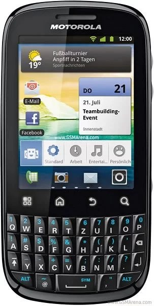 Motorola Fire 3.5G Dual SIM Android QWERTY Smartphone
