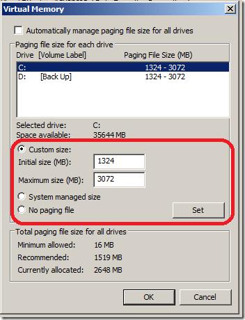 Increase Virtual Memory On Samsung NC215 netbook