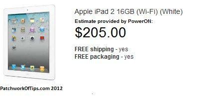 Apple iPad 2 Trade In Gift Card Program