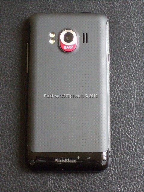 Pliris Blaze + Rear End 8MP Camera With LED Flash