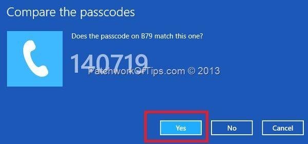Pairing Code PC
