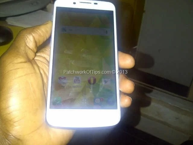 Tecno Phantom A Front View