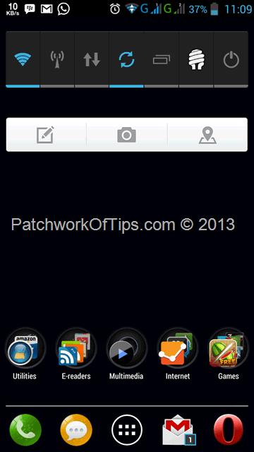 Lenovo P780 Desktop ScreenShot