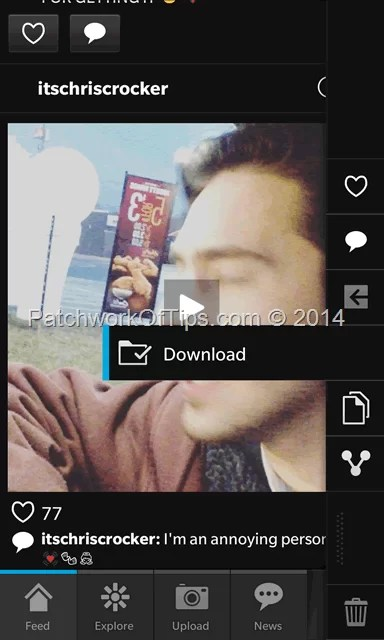 How To Download Videos and Pics Off Instagram For Android App - Tech