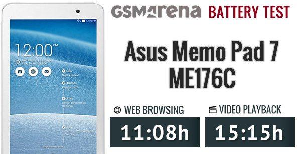 Asus Memo Pad ME176C Battery Life Review