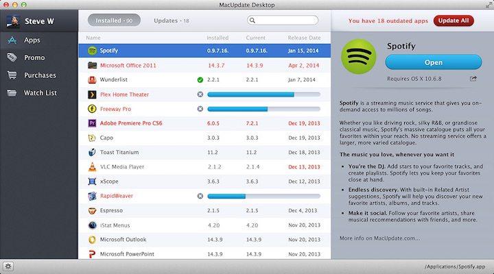 MacUpdate Desktop Review