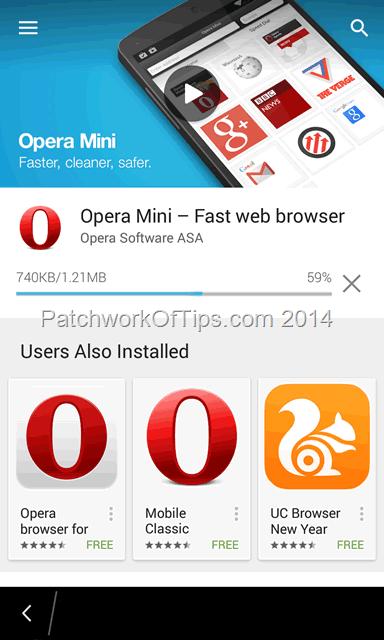 google opera mini 4.3 download