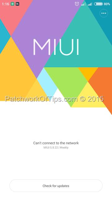 Install MIUI 7 On Xiaomi Redmi 2 HM2014813