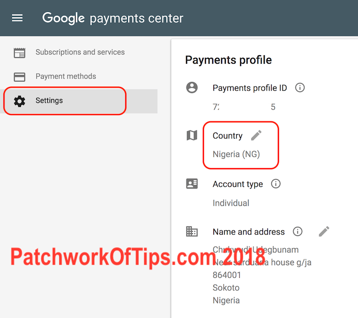 Change Google Account Country For Google Play Store Nigeria Issue 1