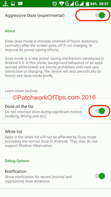 Greenify For Android Marshmallow Setup