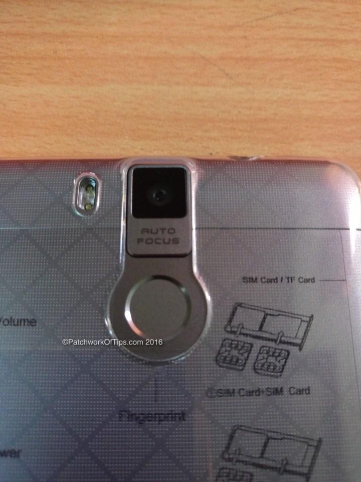 Oukitel K6000 Pro Fingerprint Sensor, 13MP Camera & Dual LED Flash