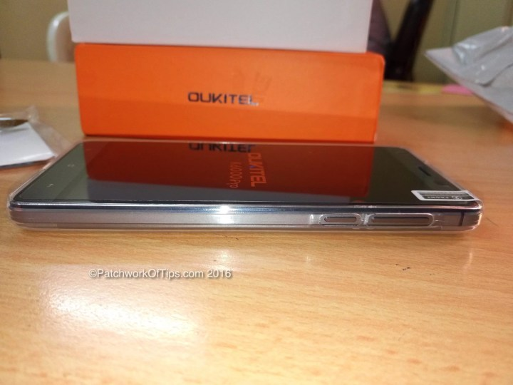 Oukitel K6000 Pro Power and Volume Buttons