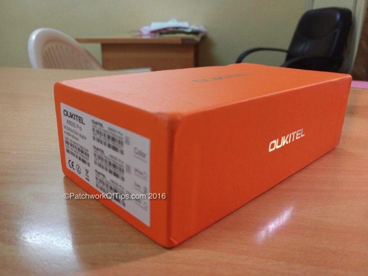 Oukitel K6000 Pro Unboxed
