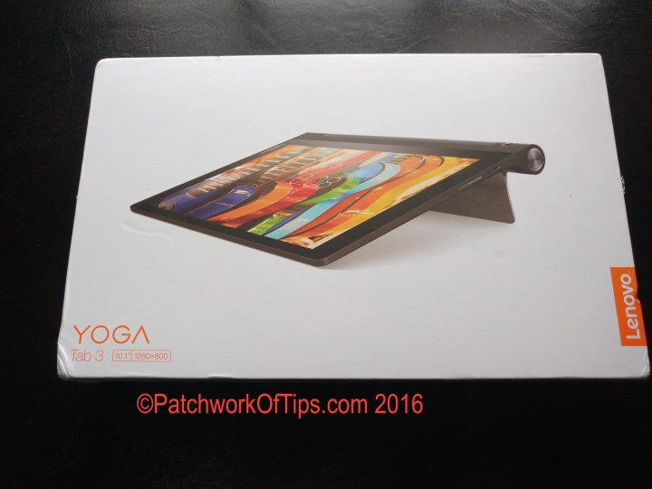 Lenovo Yoga Tab 3 10 Boxed