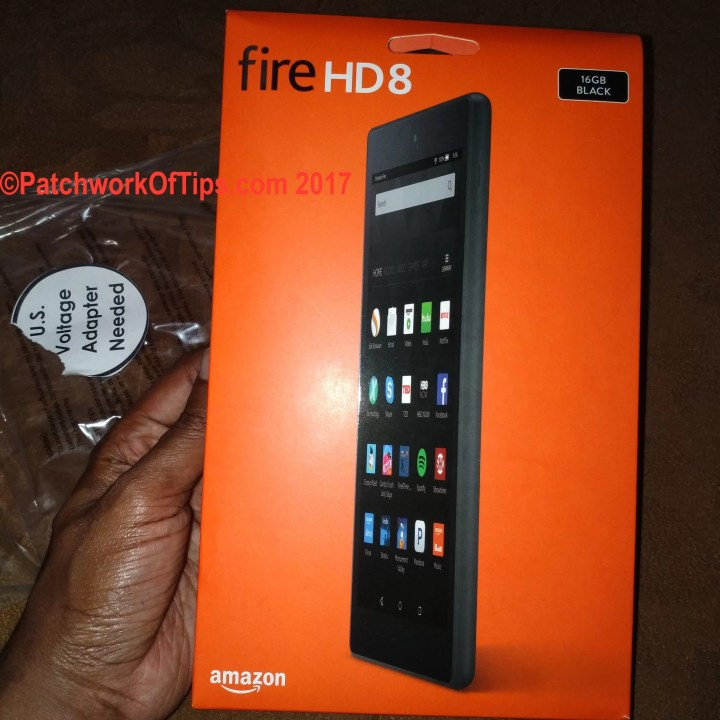 Amazon Fire HD 8 (2016) Boxed 2