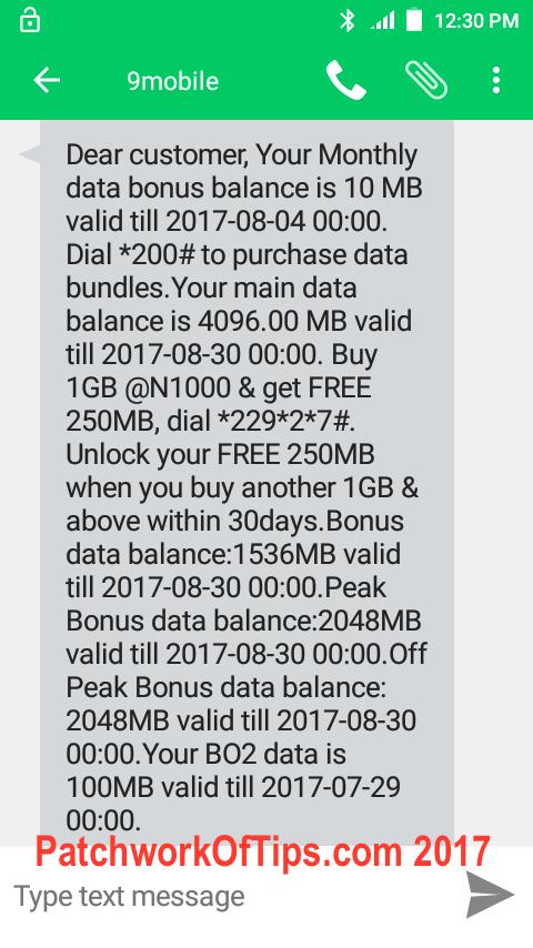 9Mobile Nigeria Double Data Promo