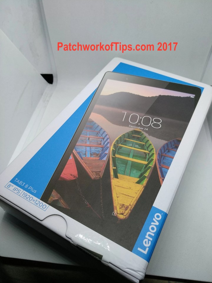 Lenovo TAB3 8 Plus Boxed 1