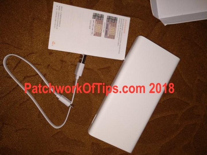 Mi PowerBank 2C Unboxed