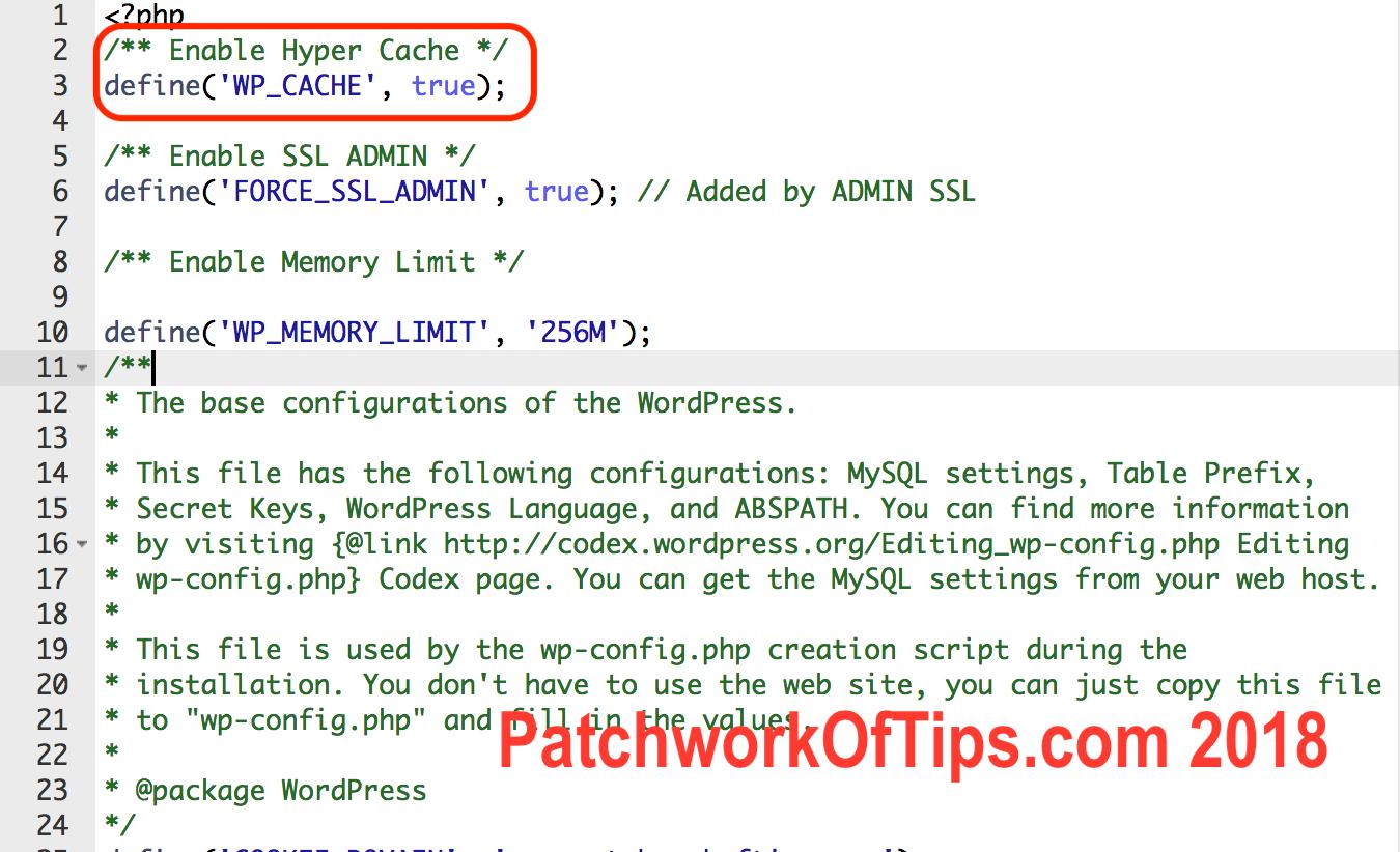 Hyper Cache WordPress Plugin Setup 2018 at 5.09.57 PM