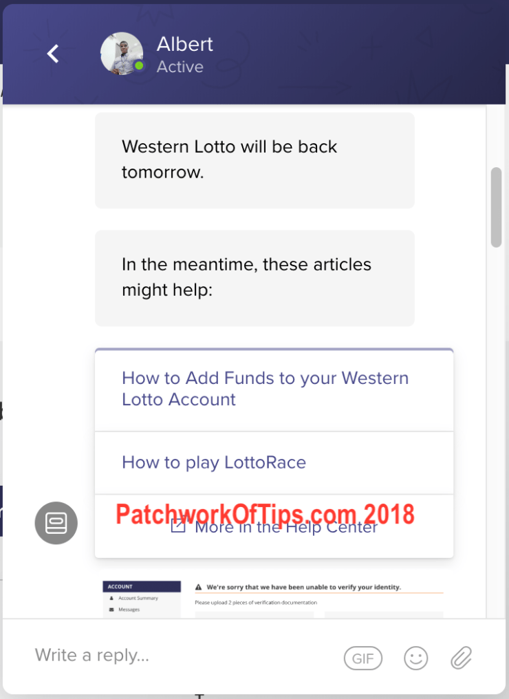 Western Lotto Withdrawal 2