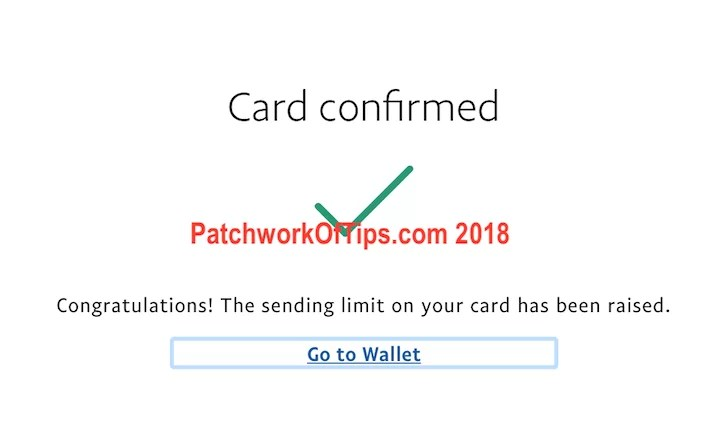 Nigerian Debit Card Added To PayPal Confirmed 9