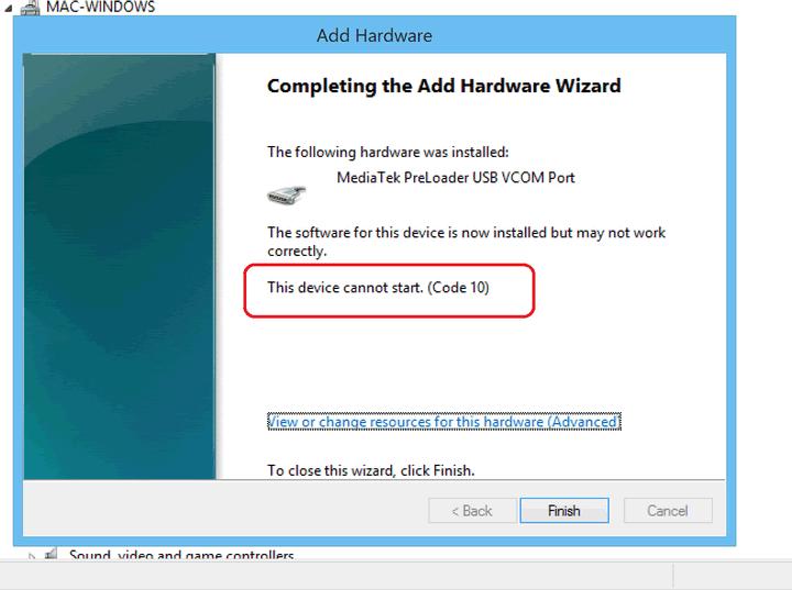 How To Install MediaTek USB VCOM Driver For Windows 8/8 1 - Tech