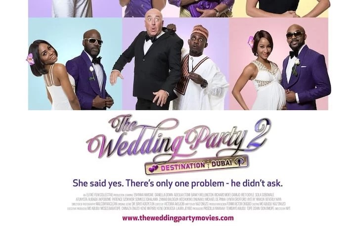 Wedding Party 2.Watch Download The Wedding Party 2 Destination Dubai For N500
