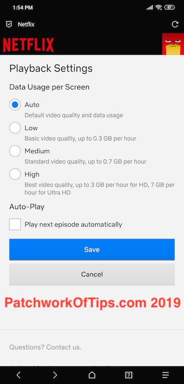 Netflix HD Download Fix 1