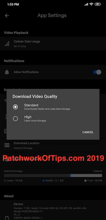 Netflix HD Download Fix 2