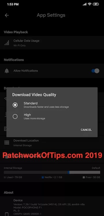 Netflix HD Download Fix 2