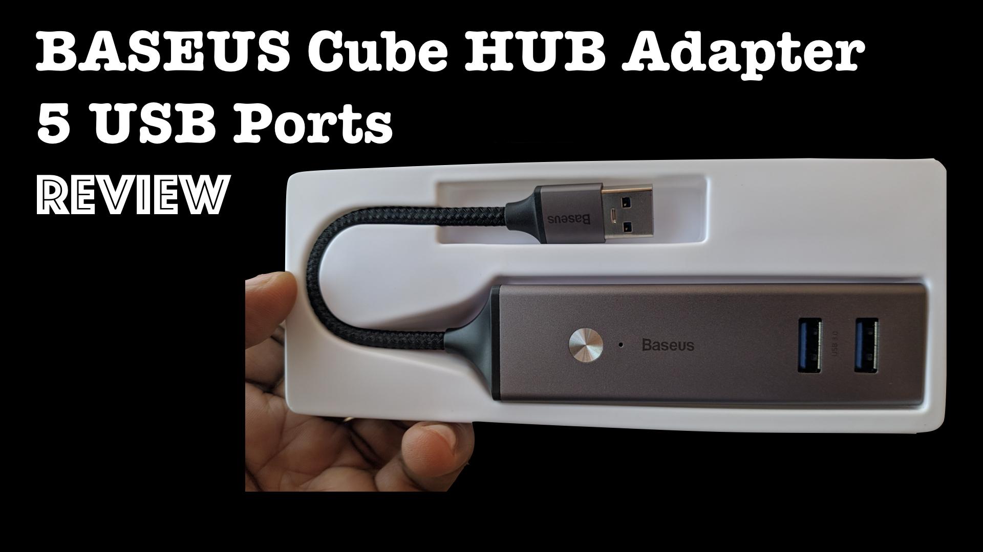 Baseus Cube HUB Adapter Review