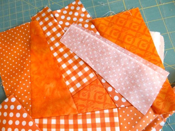 quilt as you go corner piece