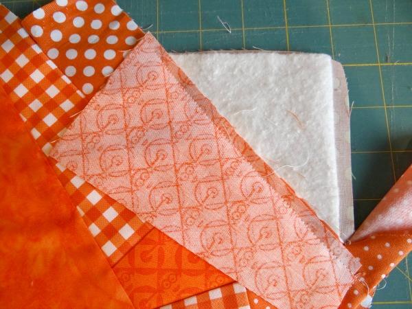 quilt as you go technique 1