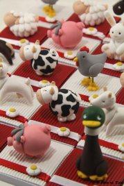 Boîtes à dragées animaux de la ferme