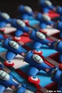 Boîtes à dragées avions de chasse patrouille de France