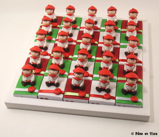 Boîtes à dragées garçons basques