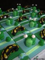 Boîtes à dragées escargots et salamandres