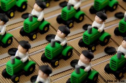Boîtes à dragées tracteurs