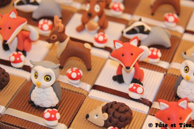 boîtes à dragées animaux de la forêt 02