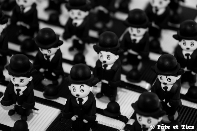 Boîtes à dragées Charlie Chaplin 02