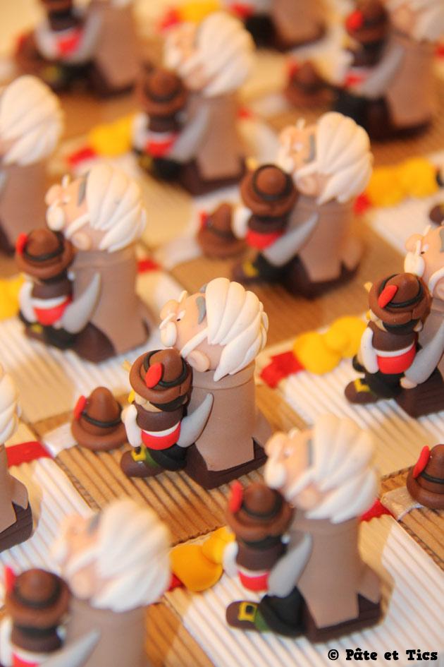Boîtes à dragées Gepetto et Pinocchio 03