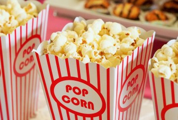 animation pop corn