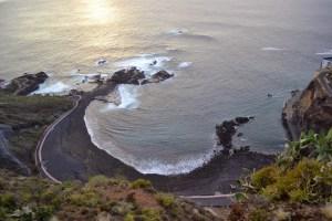 Vista panorámica de Playa de La Arena