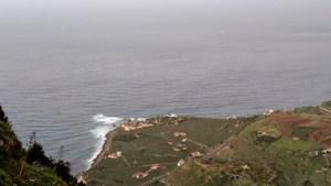 Vistas de la costa desde El Lance