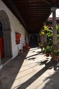 Patio exterior en El MAIT