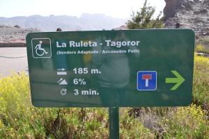 Sendero Adaptado: La Ruleta - Tagoror