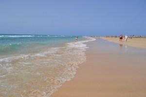 Playa del Matorral en Fuerteventura