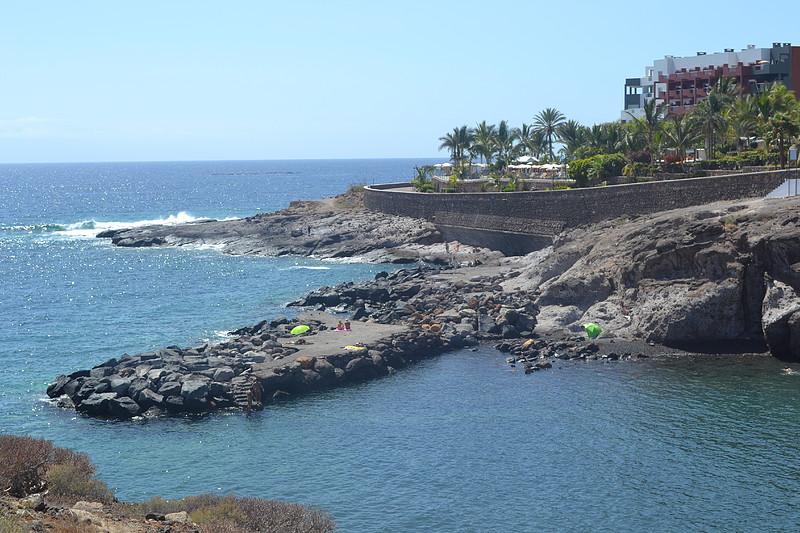 Playa el pinque y zona de ba o el marquez en playa para so patea tenerife - Bano barato tenerife ...
