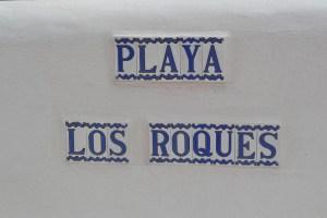 Playa Los Roques en Fasnia