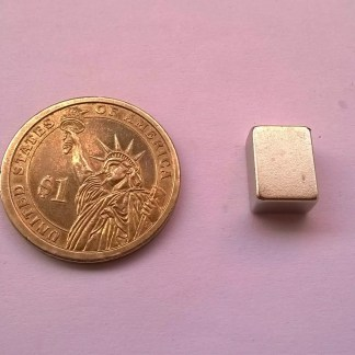 12mm x 9mm x 6mm Neodymium Block Magnets